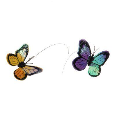ZOOSHOP.ONLINE - Интернет-магазин зоотоваров - Игрушка для кошек Funny Butterfly - резервная бабочка 1шт.