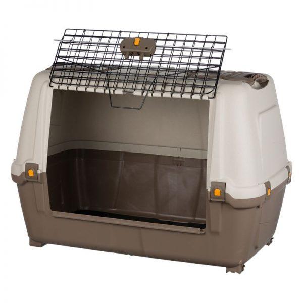 ZOOSHOP.ONLINE - Интернет-магазин зоотоваров - Trixie Skudo Car 80 переноска пластиковая для транспортировки
