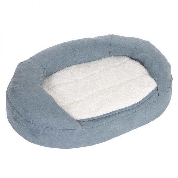 ZOOSHOP.ONLINE - Zoopreču internetveikals - Ortopediskā gulta suņiem Oeko-bed Oval Memory Foam 100 x  65 x  22 сm