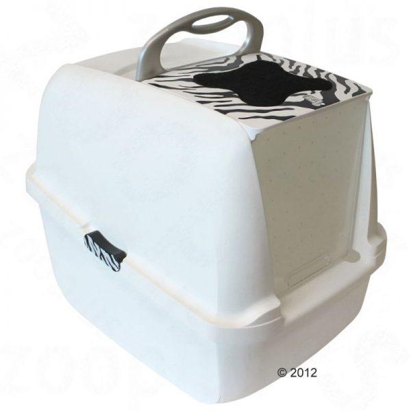 ZOOSHOP.ONLINE - Интернет-магазин зоотоваров - Catit White Tiger - туалет для кошек
