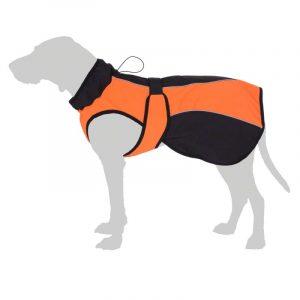 ZOOSHOP.ONLINE - Интернет-магазин зоотоваров - Smartpet Softshell-пальто для собак оранжевое длина спины от 40 до 70 cм