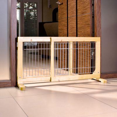 ZOOSHOP.ONLINE - Zoopreču internetveikals - Trixie Mesh Dog barjēra  suņiem 63-108 x 31 x 50 сm