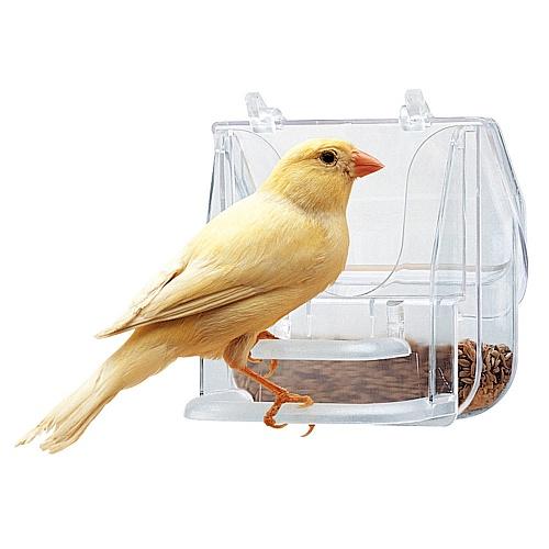 ZOOSHOP.ONLINE - Интернет-магазин зоотоваров - Ferplast кормушка PRETTY наружная для мелких и средних птиц