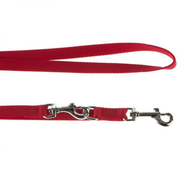 ZOOSHOP.ONLINE - Интернет-магазин зоотоваров - Hunter поводок Ecco Sport, красный 200 см длина, 15 мм