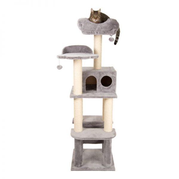 ZOOSHOP.ONLINE - Zoopreču internetveikals - Kaķu māja La Digue Pelēkā
