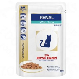 ZOOSHOP.ONLINE - Zoopreču internetveikals - Royal Canin Veterinary Diet Feline Renal mērce 85 gr