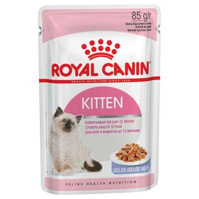 ZOOSHOP.ONLINE - Zoopreču internetveikals - Royal Canin Kitten Instinctive želejā 12 x 85 g