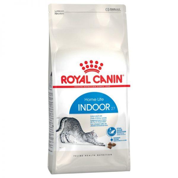 ZOOSHOP.ONLINE - Zoopreču internetveikals - Royal Canin Indoor 27  10kg