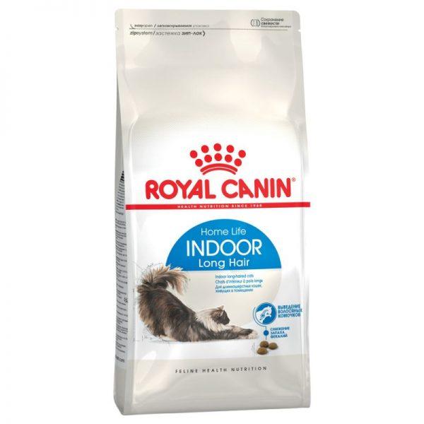 ZOOSHOP.ONLINE - Zoopreču internetveikals - Royal Canin Indoor Long Hair 10kg