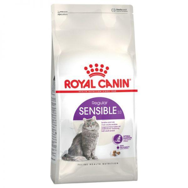 ZOOSHOP.ONLINE - Интернет-магазин зоотоваров - Royal Canin Sensible 33 10kg