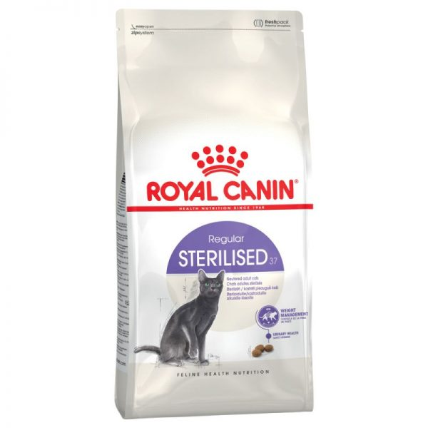 ZOOSHOP.ONLINE - Интернет-магазин зоотоваров - Royal Canin Sterilised 37 10kg