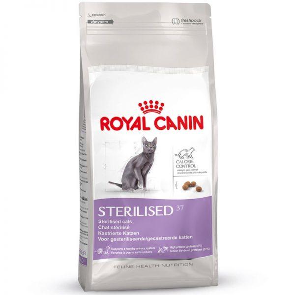 ZOOSHOP.ONLINE - Zoopreču internetveikals - Royal Canin Sterilised 37 10kg