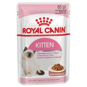 ZOOSHOP.ONLINE - Zoopreču internetveikals - Royal Canin Kitten Instinctive mērcē 12 x 85 g