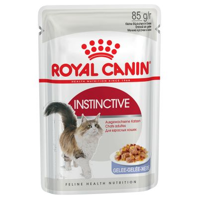 ZOOSHOP.ONLINE - Интернет-магазин зоотоваров - Royal Canin Instinctive в желе 12 x 85 гр