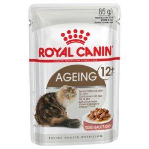 ZOOSHOP.ONLINE - Интернет-магазин зоотоваров - Консервы для кошек - Royal Canin Feline Ageing +12 (в соусе), 85 гр
