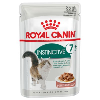 ZOOSHOP.ONLINE - Zoopreču internetveikals - Royal Canin Instinctive +7 mērcē 12 x 85 gr