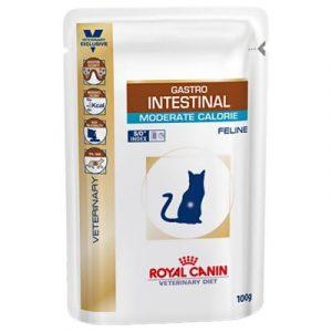 ZOOSHOP.ONLINE - Интернет-магазин зоотоваров - Royal Canin Veterinary Diet Feline Intestinal Moderate Calorie 100 g