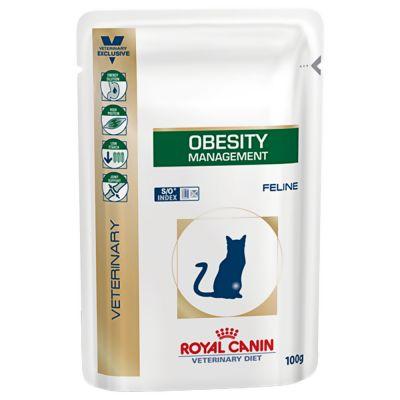 ZOOSHOP.ONLINE - Интернет-магазин зоотоваров - Royal Canin Veterinary Diet Feline Obesity Management 100 g