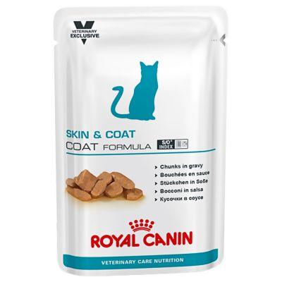 ZOOSHOP.ONLINE - Интернет-магазин зоотоваров - Royal Canin Adult Skin & Coat - Vet Care Nutrition 100 g