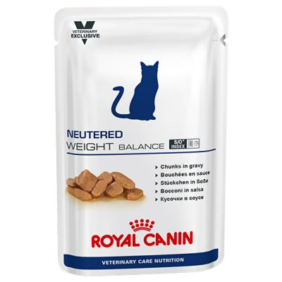 ZOOSHOP.ONLINE - Zoopreču internetveikals - Royal Canin Neutered Weight Balance 12 x 100 g