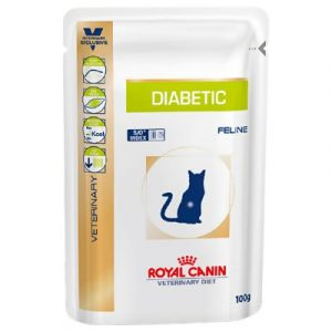 ZOOSHOP.ONLINE - Zoopreču internetveikals - Royal Canin Veterinary Diet Feline Diabetic 100g