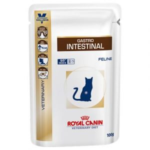 ZOOSHOP.ONLINE - Zoopreču internetveikals - Royal Canin Veterinary Diet Feline Gastro Intestinal 100 g