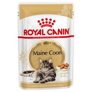 ZOOSHOP.ONLINE - Zoopreču internetveikals - Royal Canin Breed Maine Coon Adult mērcē 12 x 85 g