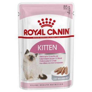 ZOOSHOP.ONLINE - Интернет-магазин зоотоваров - Royal Canin Kitten паштет 12 x 85 гр