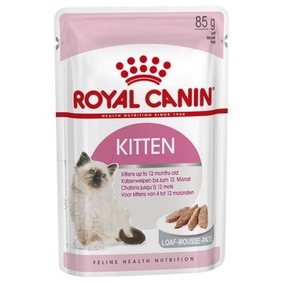ZOOSHOP.ONLINE - Интернет-магазин зоотоваров - Royal Canin Kitten паштет 12 x 85 гр