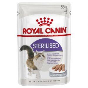 ZOOSHOP.ONLINE - Интернет-магазин зоотоваров - Royal Canin Sterilised Mousse   паштет 85 g
