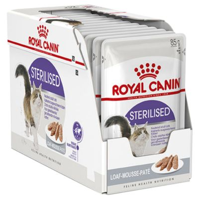 ZOOSHOP.ONLINE - Интернет-магазин зоотоваров - Royal Canin Sterilised Mousse   паштет 12 x 85 g