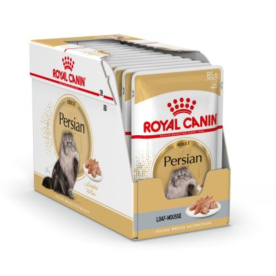 ZOOSHOP.ONLINE - Zoopreču internetveikals - Royal Canin Breed Persian pastēte 12 x 85 g