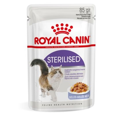 ZOOSHOP.ONLINE - Интернет-магазин зоотоваров - Royal Canin Sterilised в желе 12 x 85 гр