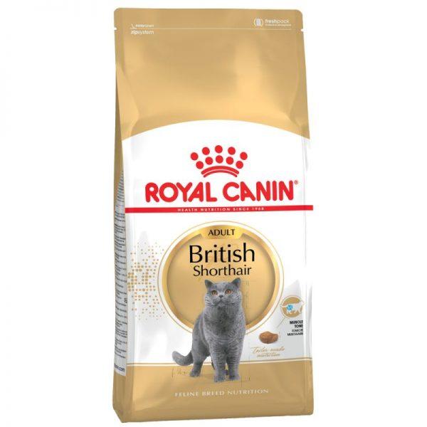 ZOOSHOP.ONLINE - Zoopreču internetveikals - Royal Canin British Shorthair Adult 10kg