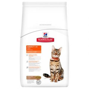 ZOOSHOP.ONLINE - Интернет-магазин зоотоваров - Hill's Science Plan Adult 1-6 Optimal Care с бараниной 10 kg