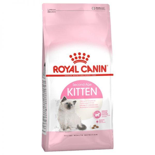ZOOSHOP.ONLINE - Zoopreču internetveikals - Royal Canin Kitten 10kg