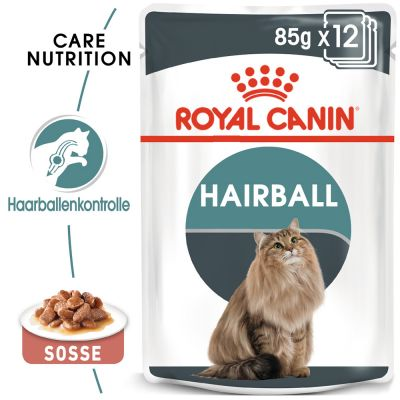 ZOOSHOP.ONLINE - Интернет-магазин зоотоваров - Royal Canin Hairball Care в соусе 12 x 85 g