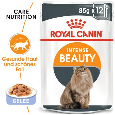 ZOOSHOP.ONLINE - Zoopreču internetveikals - Royal Canin Intense Beauty želejā 12 x 85 gr