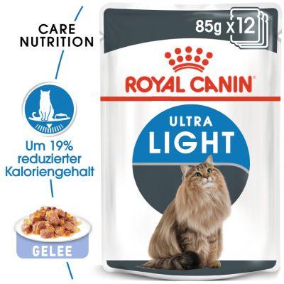 ZOOSHOP.ONLINE - Zoopreču internetveikals - Royal Canin Ultra Light želejā 85 g