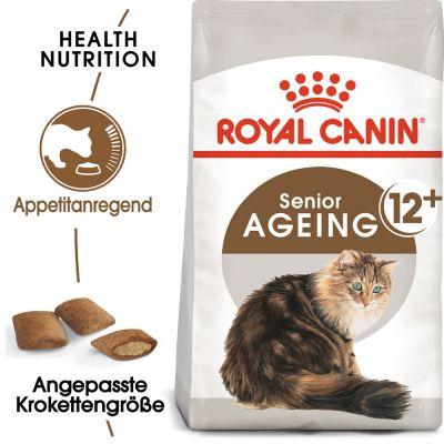 ZOOSHOP.ONLINE - Интернет-магазин зоотоваров - Royal Canin Ageing 12+   / 4 kg