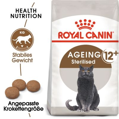ZOOSHOP.ONLINE - Zoopreču internetveikals - Royal Canin Senior Ageing Sterilised 12+ / 4kg
