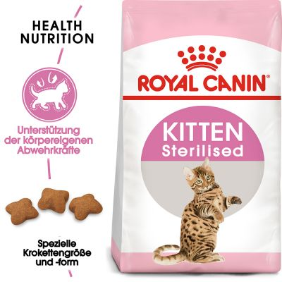ZOOSHOP.ONLINE - Интернет-магазин зоотоваров - Royal Canin Kitten Sterilised 3,5 kg