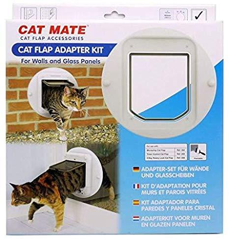 ZOOSHOP.ONLINE - Интернет-магазин зоотоваров - Cat Mate Mikrochip 361W Монтажный адаптер для стен и стеклянных панелей