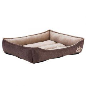 ZOOSHOP.ONLINE - Интернет-магазин зоотоваров - Уютная кроватка для домашних питомцев, размер 90 x 63 x 18 см