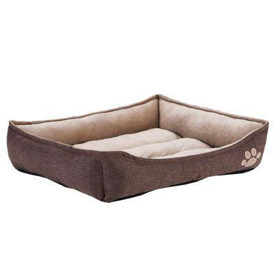 ZOOSHOP.ONLINE - Zoopreču internetveikals - Mājīga mājdzīvnieku gulta, izmērs 54 x 48 x11 sм