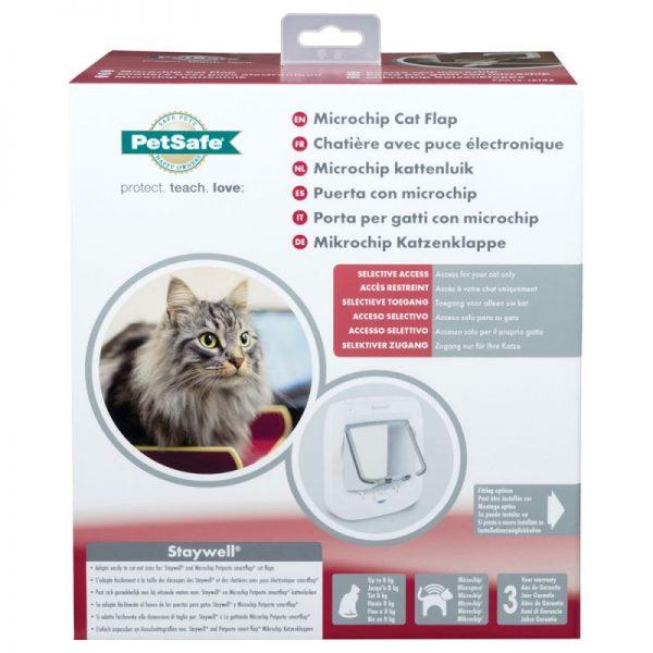 ZOOSHOP.ONLINE - Zoopreču internetveikals - PetSafe durvis ar Mikročipu kaķiem