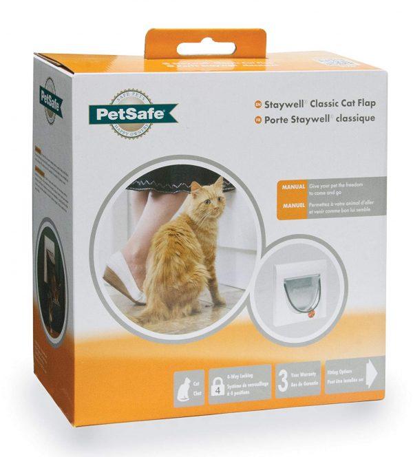 ZOOSHOP.ONLINE - Zoopreču internetveikals - PetSafe Staywell 4 Way Locking Klasiskas kaķu durvis