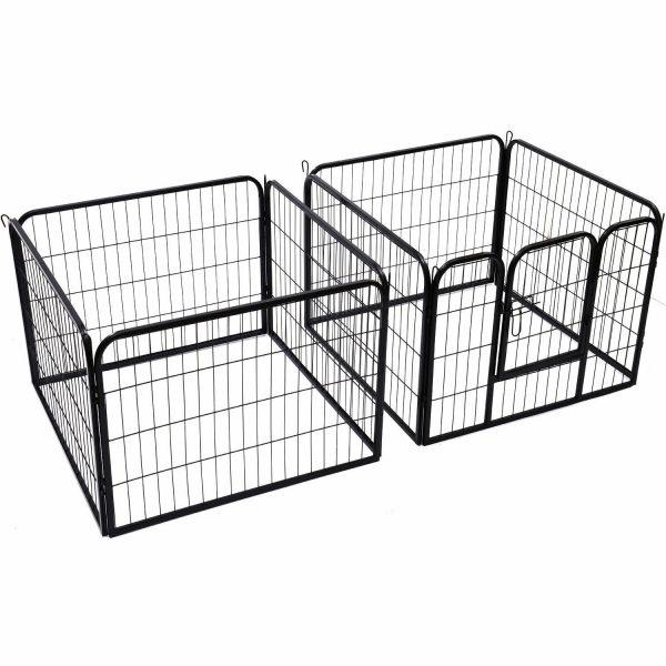 ZOOSHOP.ONLINE - Zoopreču internetveikals - Playpen Puppy metāla nožogojums – sēta suņiem, kucēniem 60(A) cm