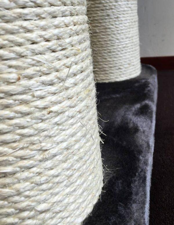 ZOOSHOP.ONLINE - Zoopreču internetveikals - Kaķu māja Maine Coon Fantāzija PLUS (antracīts). Cat tree Maine Coon Fantasy PLUS Anthracite