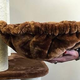 ZOOSHOP.ONLINE - Zoopreču internetveikals - Kaķu māja Pantera (brūns) Cat Tree Panther Brown
